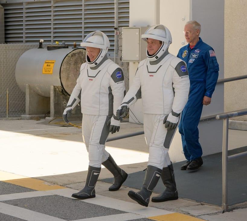 Traje de astronauta SpaceX