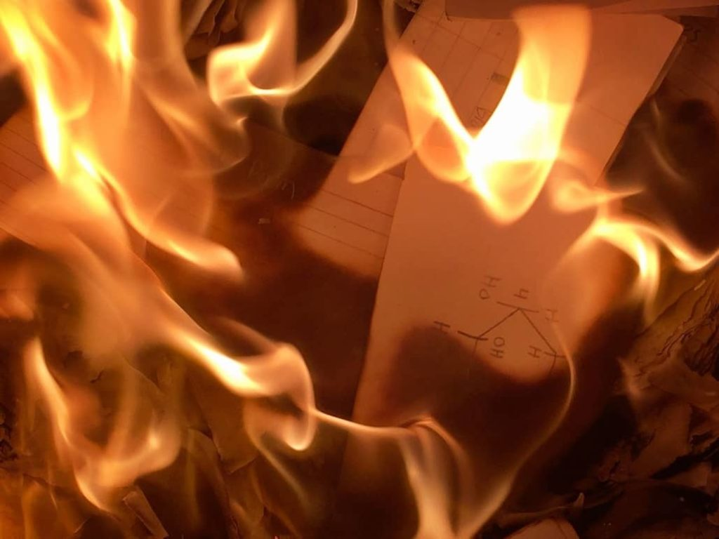 reacciones quimicas combustion