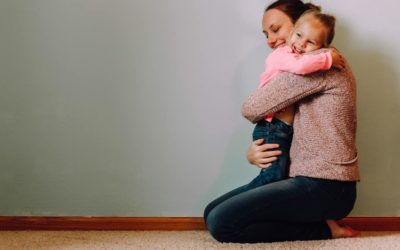 Por qué es bueno abrazar a los niños