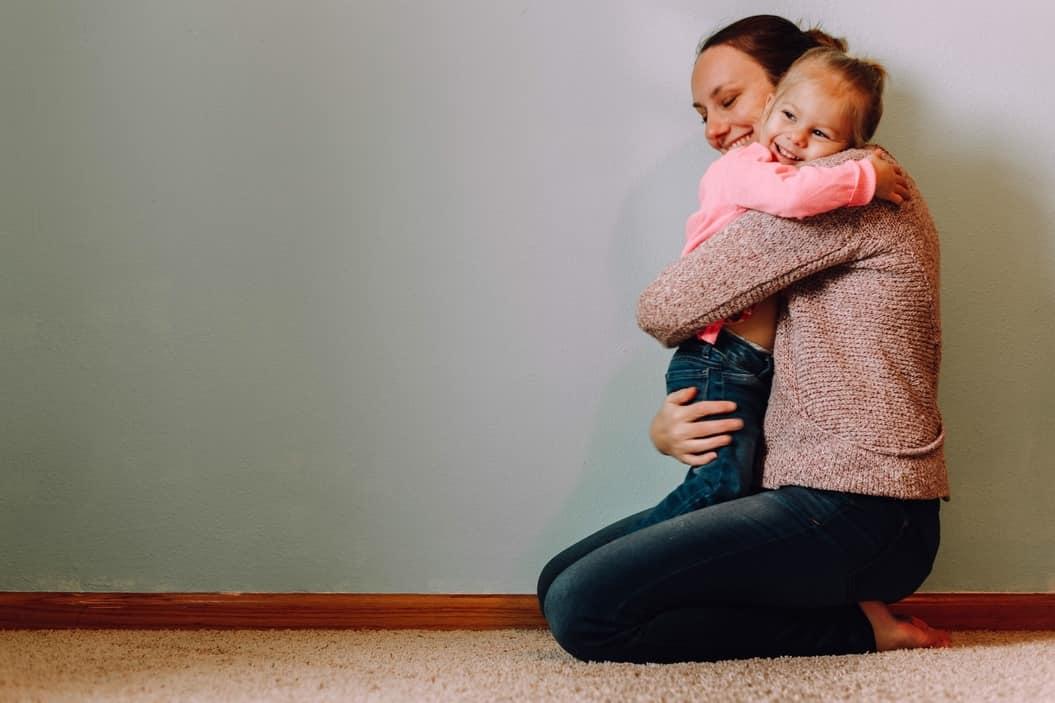 Abrazos a los niños