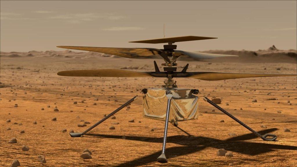 ingenuity el helicóptero marciano
