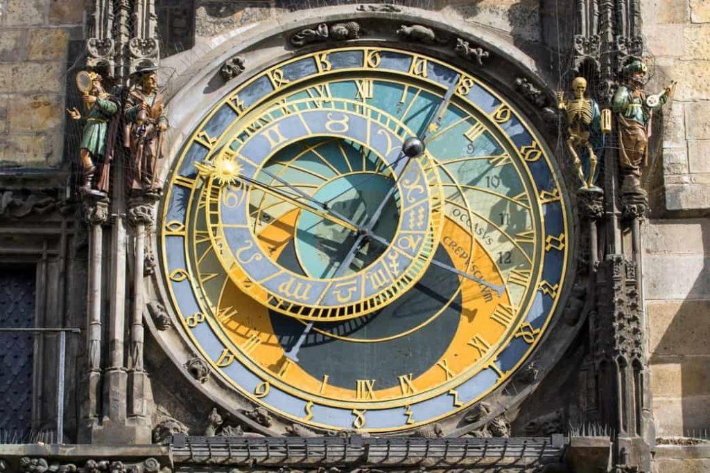 El famoso reloj astronómico de Praga