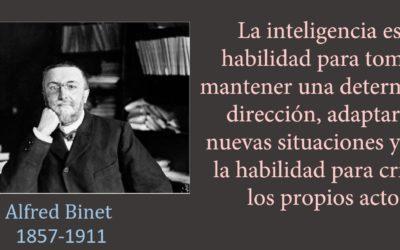 la inteligencia según Alfred Binet es medible