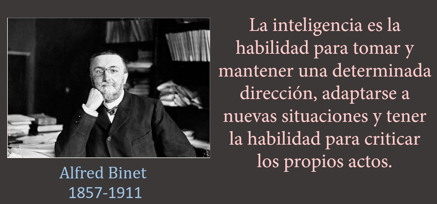 Inteligencia segun Alfred Binet