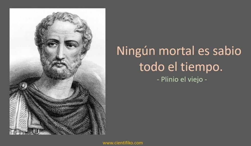 Plinio el viejo cientificos romanos