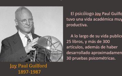 La inteligencia según Joy Paul Guilford