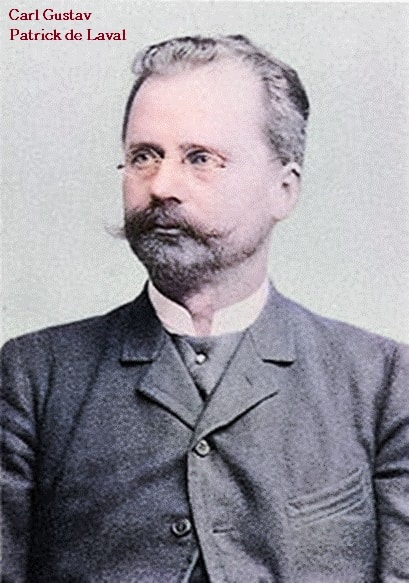 Carl Gustav Patrick de Laval turbina de vapor