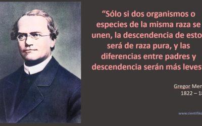 Vida, experimentos y leyes de Gregor Mendel