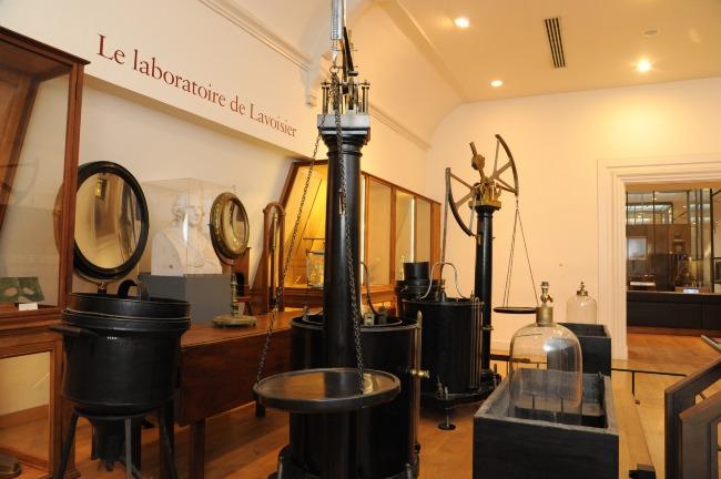 Laboratorio de Antoine Lavoisier