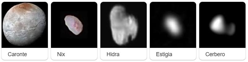 lunas de Pluton