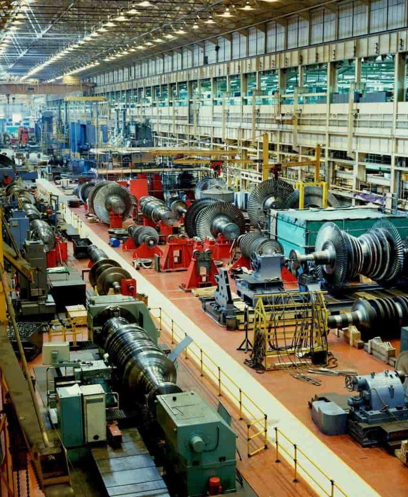 Turbinas a vapor