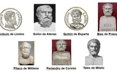 Los siete sabios de Grecia